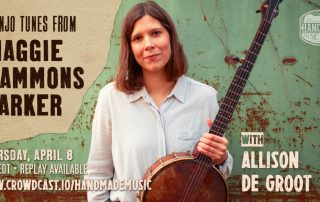 Old Time Banjo with Allison de Groot