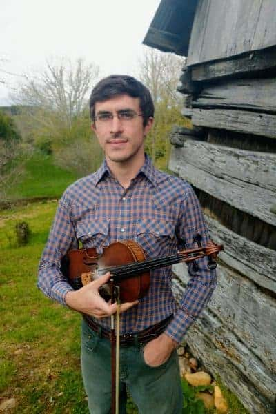 Andrew Small Fiddle (portrait)