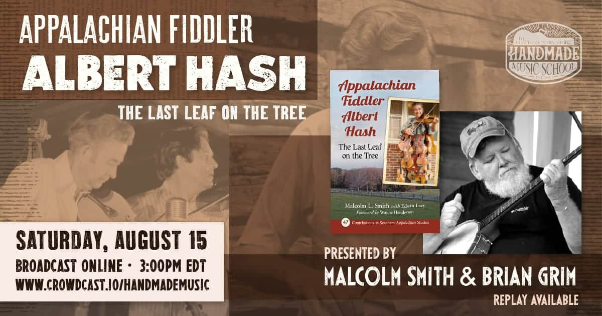Appalachian Fiddler Albert Hash