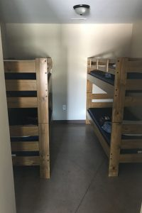 Bermed Lodge Room 3