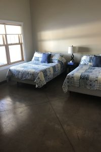 Bermed Lodge Room 5