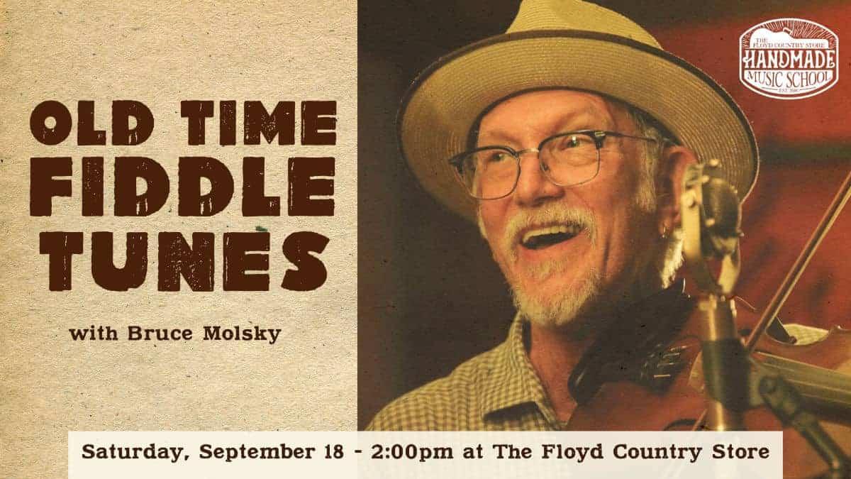 Bruce Molsky Workshop 2021-09-18