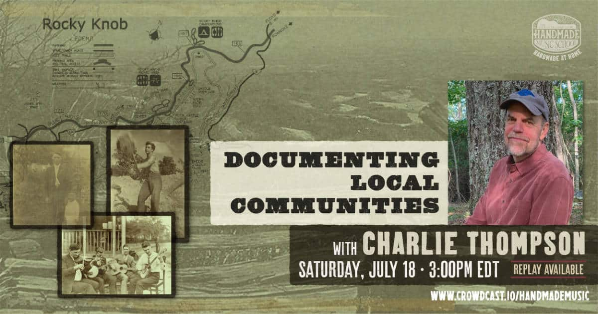 Documenting Local Communities with Charlie Thompson