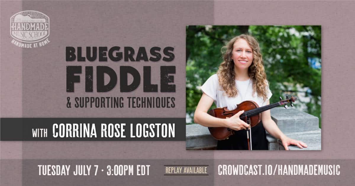 Bluegrass Fiddle and Supporting Techniques with Corrina Rose Logston