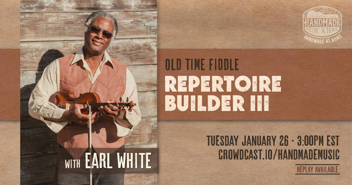Repertoire Builder III with Earl White