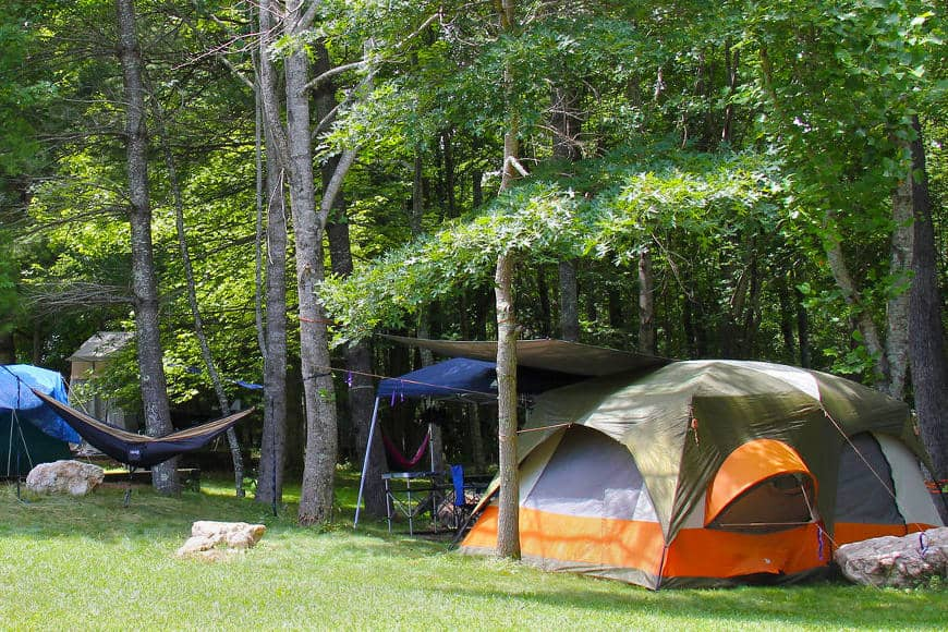 Floyd Ecovillage Campground
