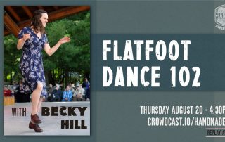Flatfoot Dance 102 with Becky Hill