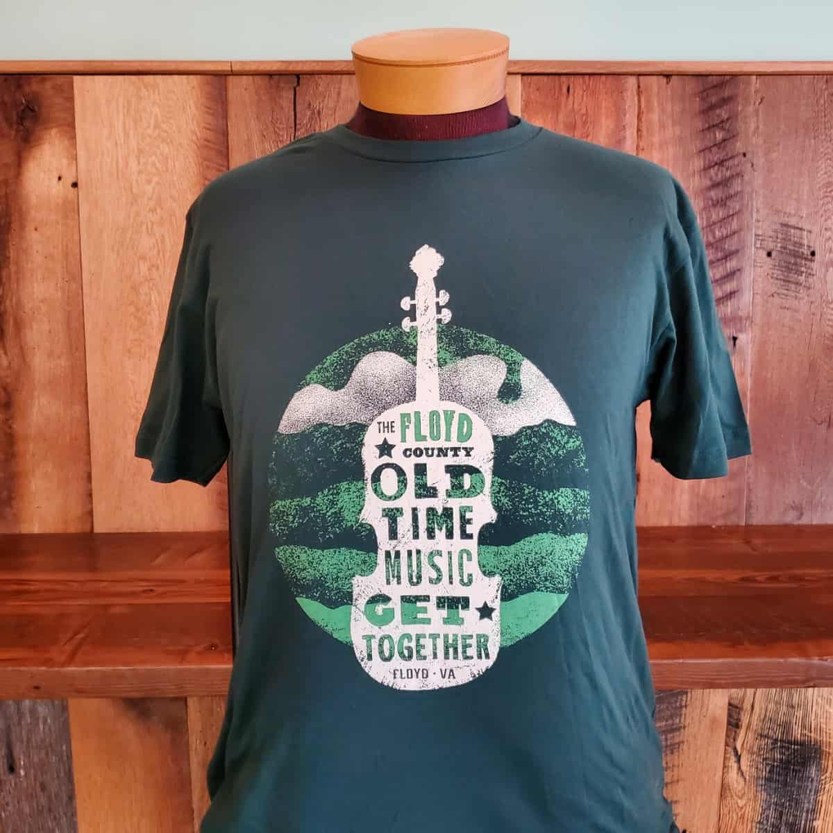 Floyd County Old Time Music Get Together Short Sleeve Shirt