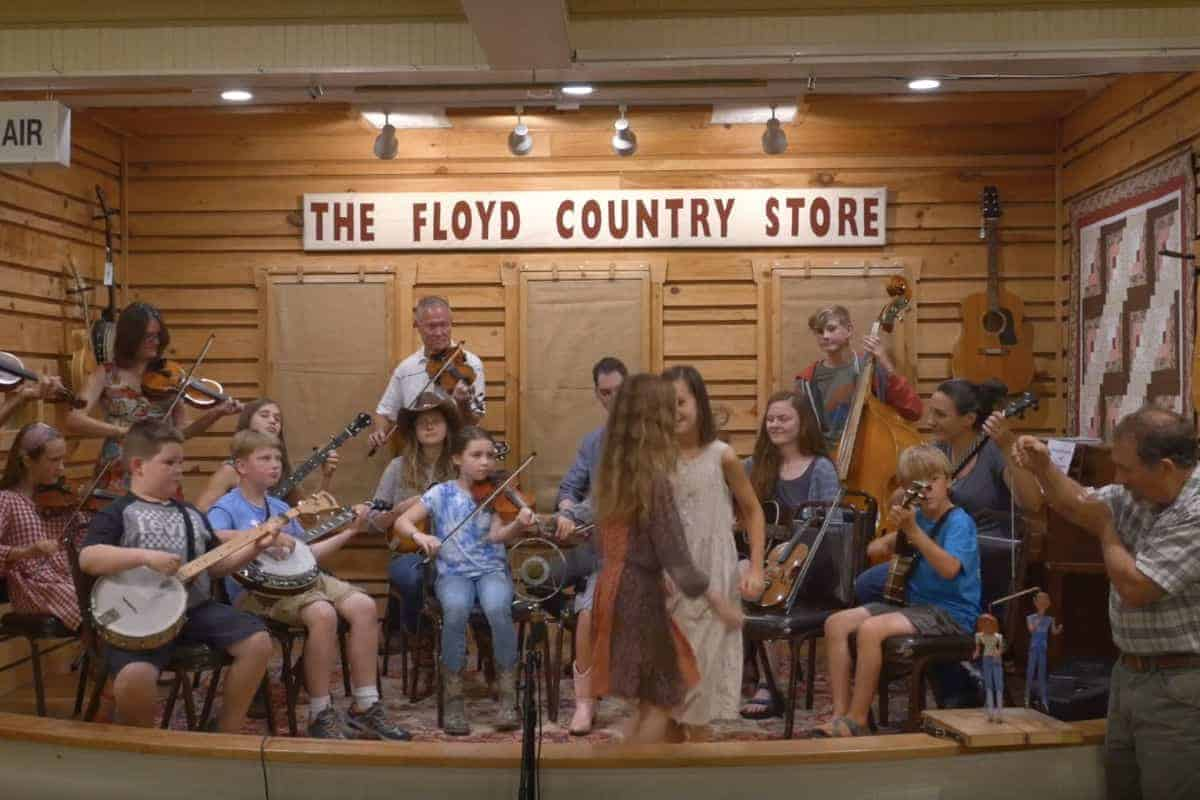 HMS students performing Big Country and Shooting Creek
