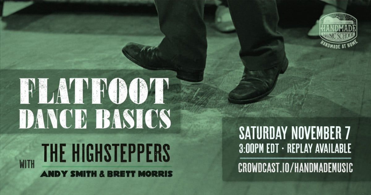 Flatfoot Dance Basics with the Highsteppers
