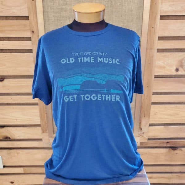Old Time Music Get Together T-Shirt (blue)