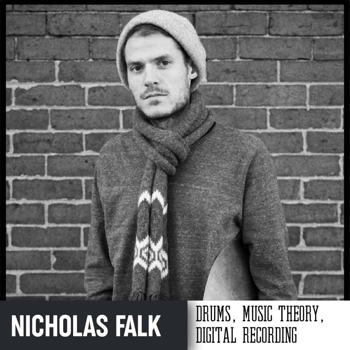 Handmade Music School Teacher Nicholas Falk
