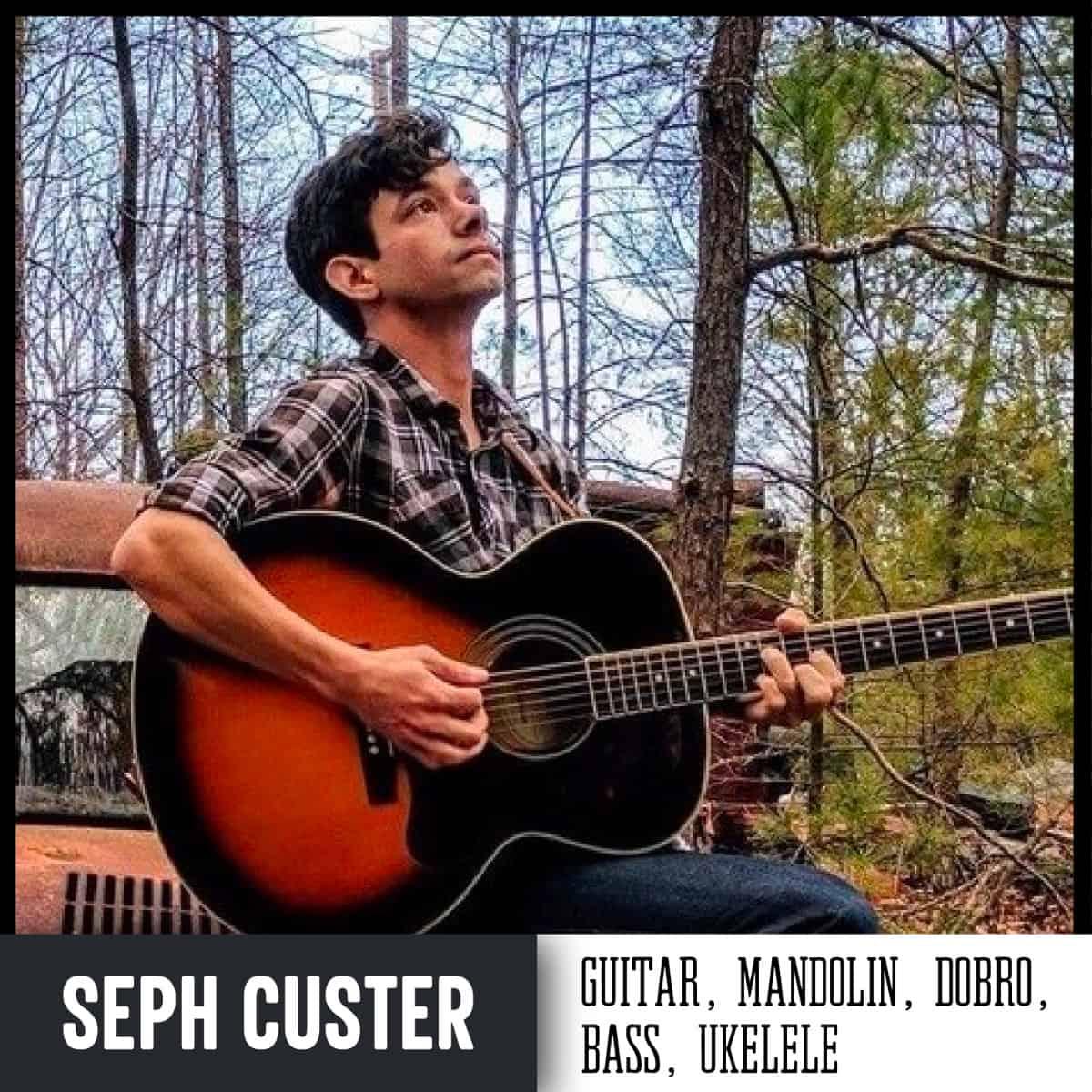 Handmade Music School Teacher Seph Custer