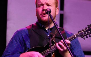 Jesse Smathers with Mandolin