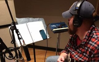 Jesse Smathers in the Studio
