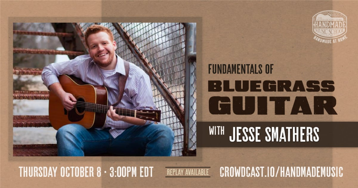 Fundamentals of Bluegrass Guitar with Jesse Smathers