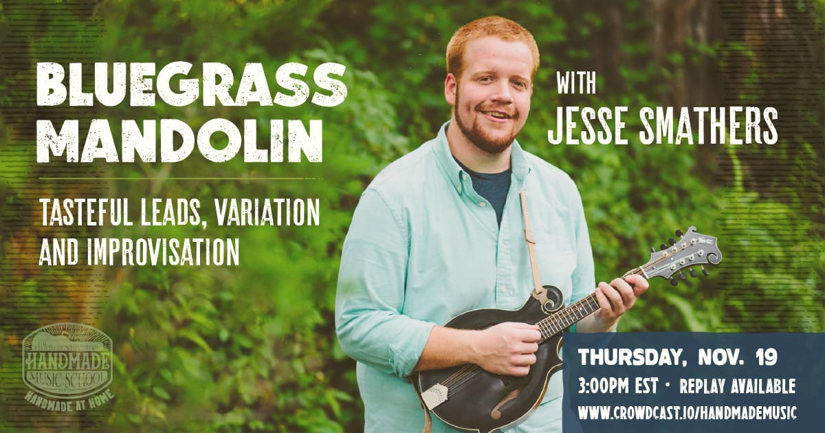 Bluegrass Mandolin Workshop with Jesse Smathers