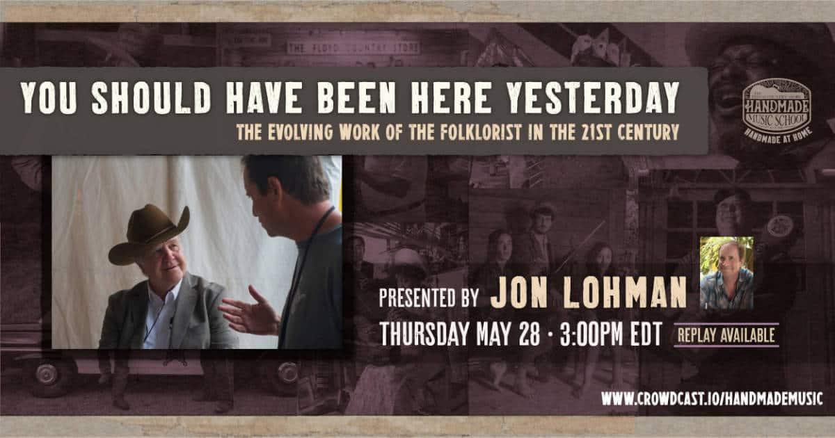 Jon Lohman Banner