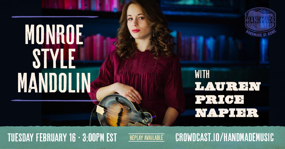 Monroe Style Mandolin with Lauren Price