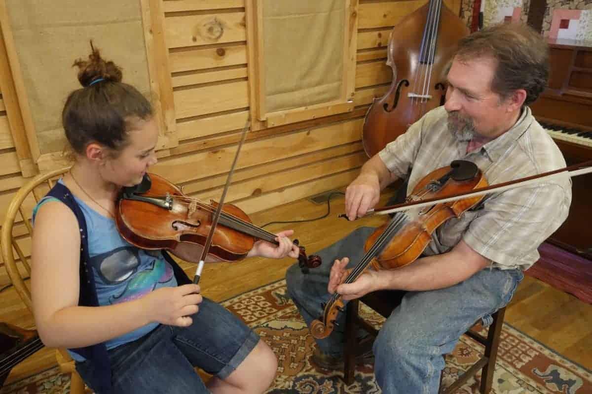 Mac Traynham Fiddle Lesson