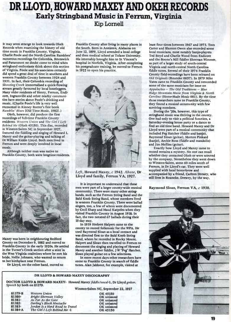 Old Time Music Magazine Issue 43