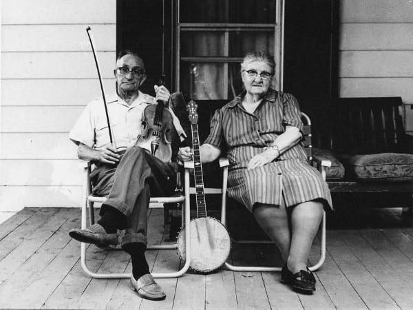 Jesse and Clarice Shelor - Patrick County, VA c.1970s