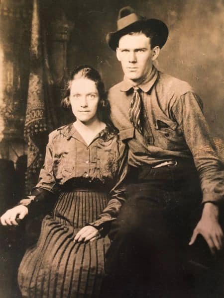 "J.W. ""Peg"" and Eula Mae Hatcher - Franklin County, VA c.1920s"