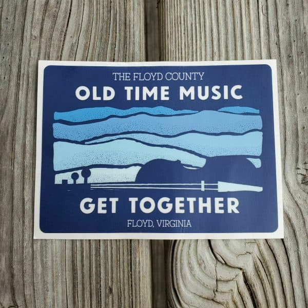 Old Time Music Get Together Sticker