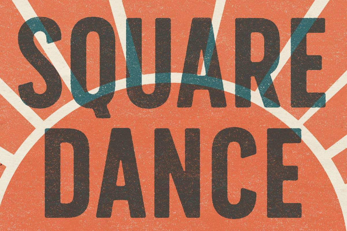 Square Dance Banner