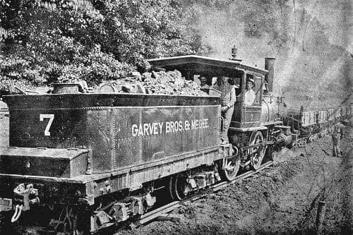 Train on the Island